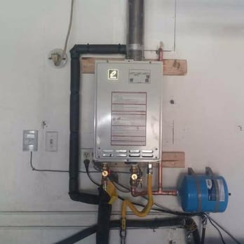 Installation Of 2 Takagi T H3 Tankless Water Heaters In Series For
