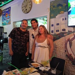 Photo of CP Grill - College Point, NY, United States. Christos, myself and his sister Martha..