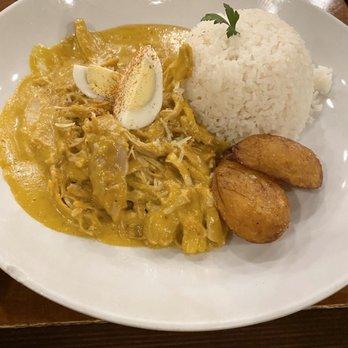 Photo of Aji Peruvian Cuisine - Long Beach, CA, United States. Ají de Gallina