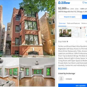 Compass Real Estate 25 Reviews Real Estate Agents 2044 W Roscoe St Roscoe Village Chicago Il Phone Number Yelp