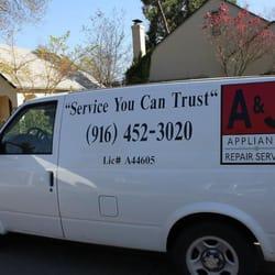 A Amp J Appliance Repair Service 266 Reviews Appliances