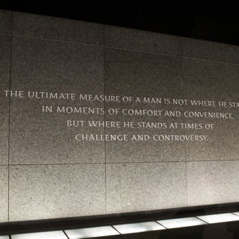 Jr MLK Plaque with stone chiseled from the Martin Luther King Memorial in DC.