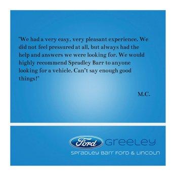 Spradley Barr Ford >> Greeley Spradley Barr Ford Greeley Co Yelp