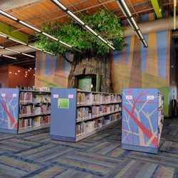 Photo of Smith Public Library - Wylie, TX, United States. Story Time Room Is Inside The Tree.