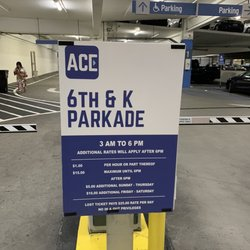 Photo of Ace Parking - 6th & K Parkade - San Diego, CA, US. Sep 5, 2020