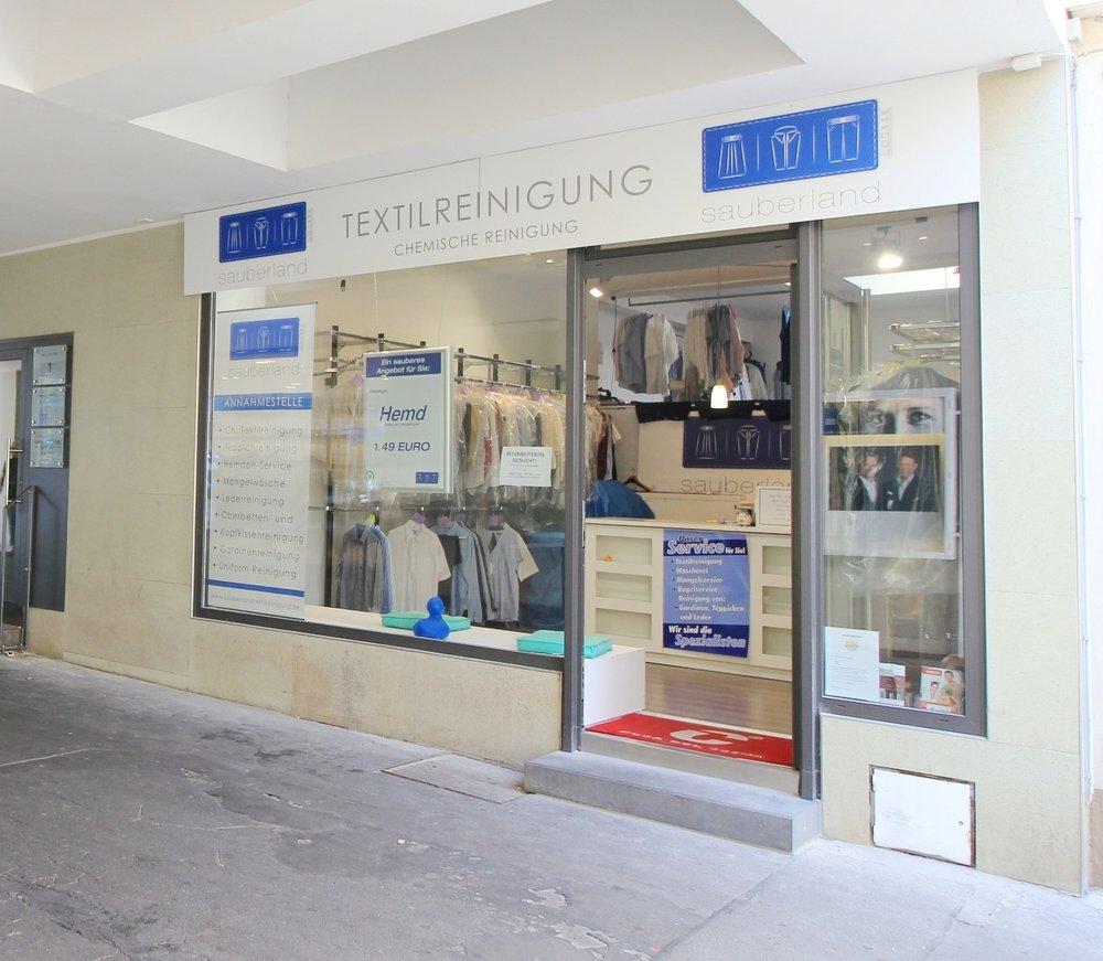 Sauberland Angebot anfragen Wäscherei & Textilreinigung