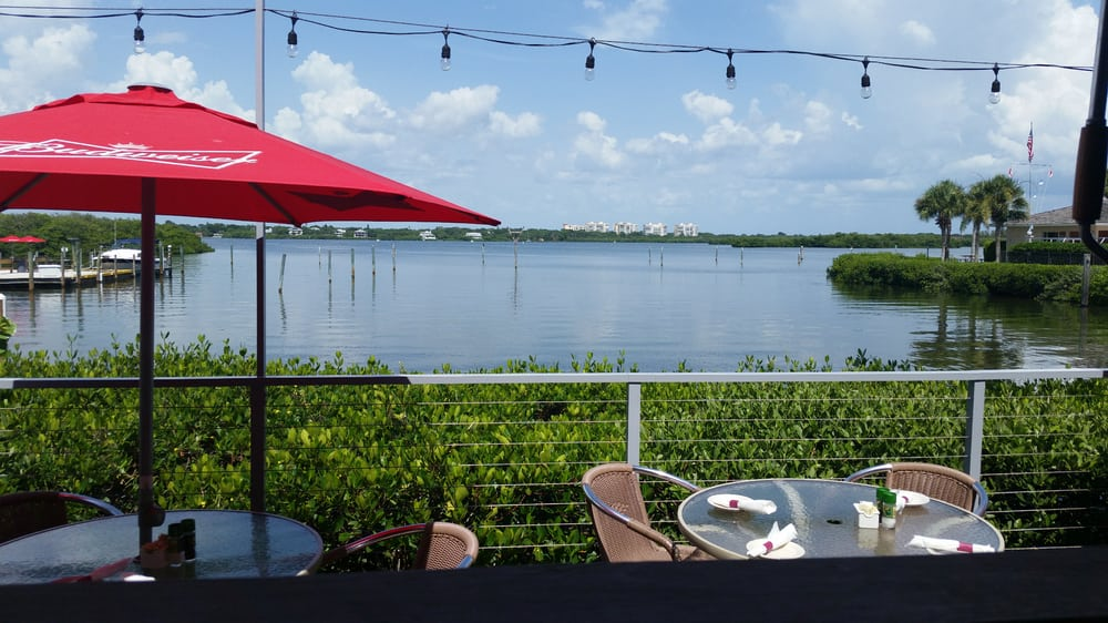 Photo of Turtles Restaurant - Sarasota, FL, United States. View from the deck at Turtles