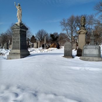 Photo of All Faiths Cemetery - Middle Village, NY, United States. On the South side, with Metropolitan Avenue to my rear. Close to M train and 54 &31 busses 4 non drivers.