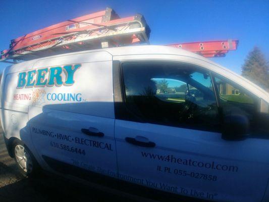 Beery Heating Cooling 114 Kirkland Cir Oswego Il Plumbing