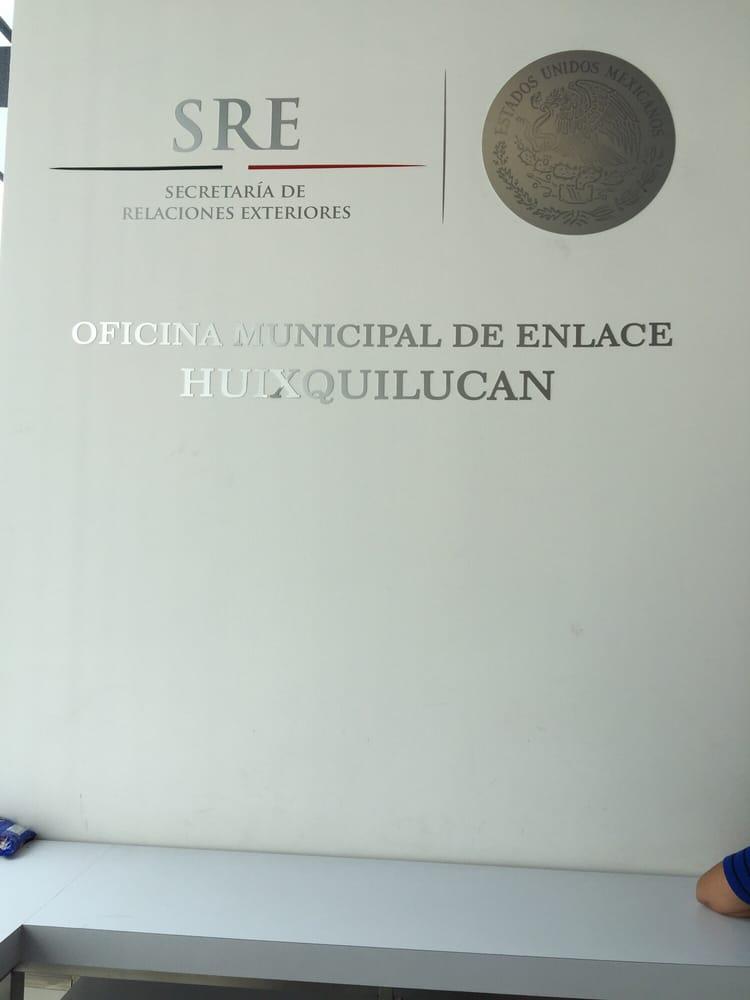 Oficina Municipal De Enlace Sre Huixquilucan Servicios