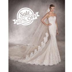 4087061feb Photo of Paisley Bridal - Glendale, NY, United States. 40% all Pronovias