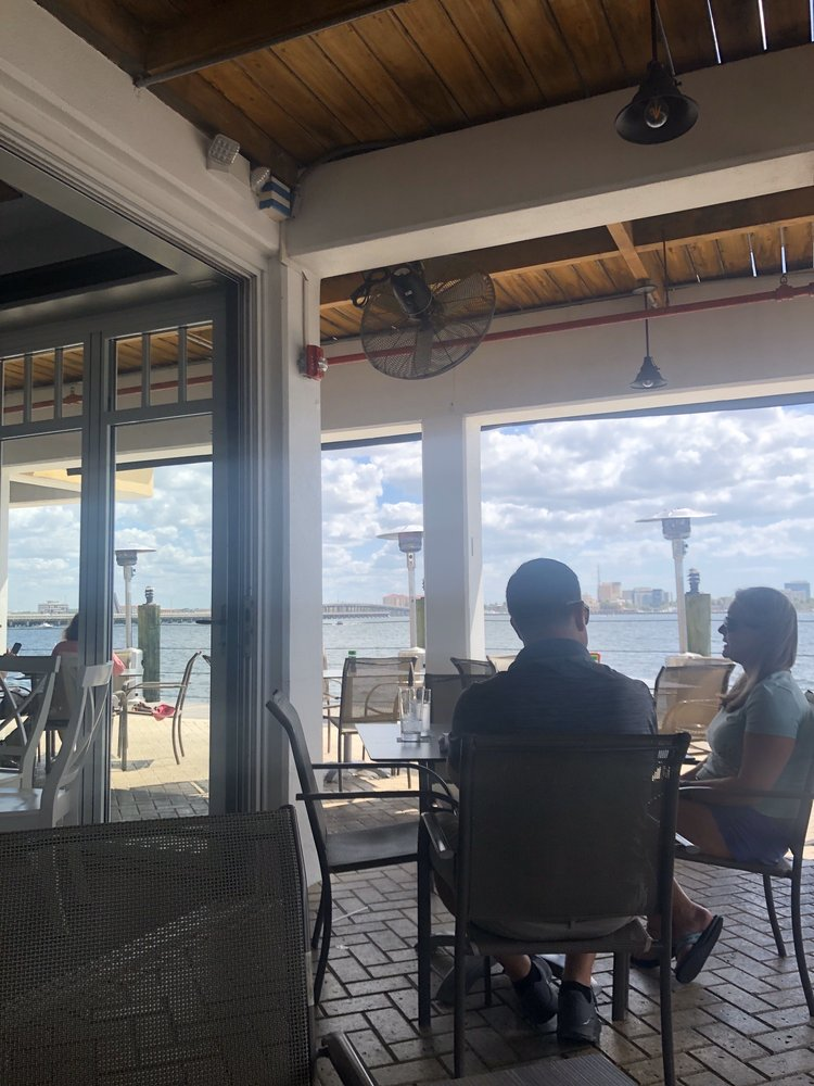 Photo of Riverhouse Waterfront Restaurant - Palmetto, FL, United States. The view