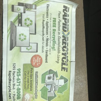 Rapid Recycle - 50 Reviews - Recycling Center - 5292 Pacheco Blvd, Pacheco,  CA - Phone Number - Yelp