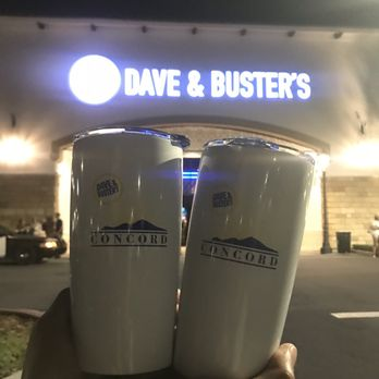 dave and buster concord ca