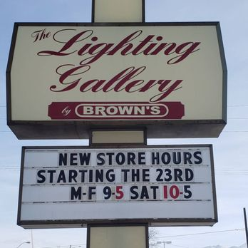 The Lighting Gallery By Brown S