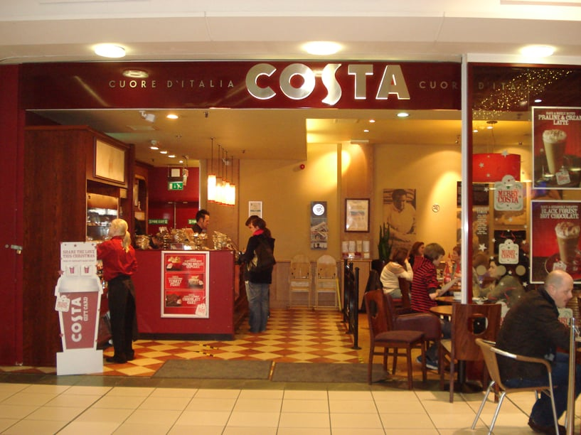 Costa Coffee Closed Coffee Tea Shops 220 Buchanan