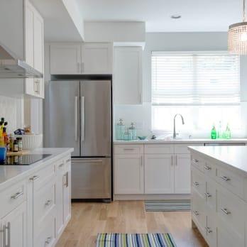 Koko Head modern white shaker cabinets - Yelp