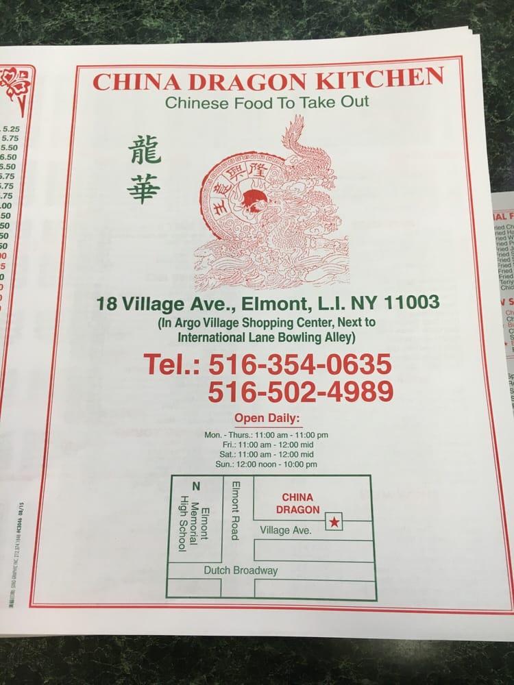 China Dragon Kitchen Chinese 18