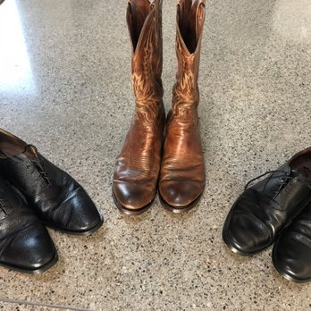 Andy's Shoe Repair - 12 Reviews - Shoe