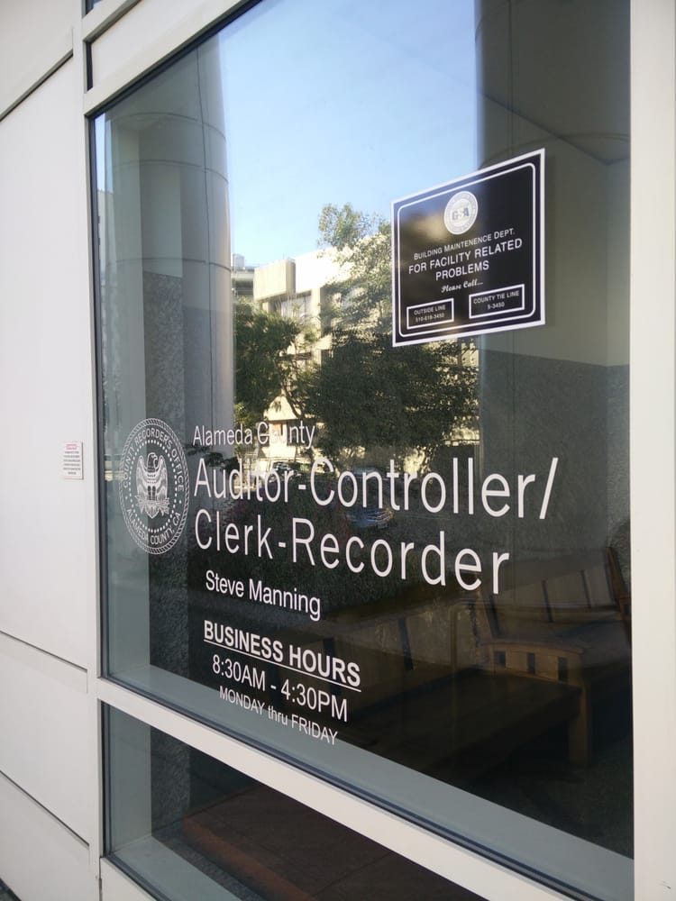 Alameda County Recorder S Fice 15 S 78 Reviews