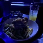 Photo of IPIC Theaters - Atlanta, GA, United States. Chicken tenders and fries