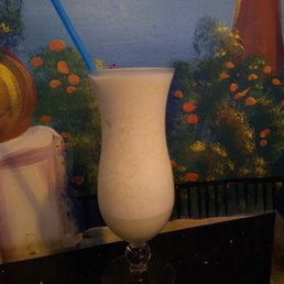 Photo of CP Grill - College Point, NY, United States. Pina Colada with a cherry on top..