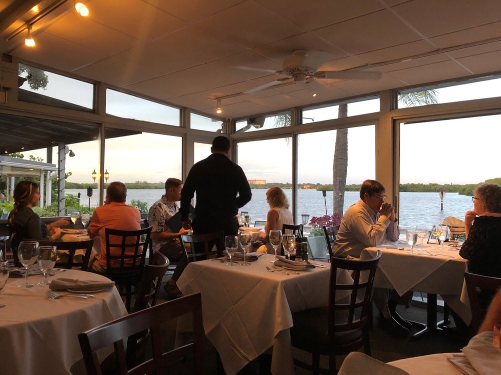 Photo of Ophelia's on the Bay - Sarasota, FL, United States. Dining-room inside