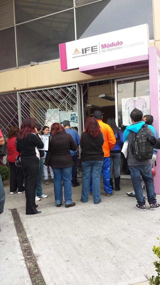 Módulo Del Ife Xochimilco Av Prolongación División Del