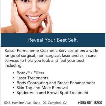 Kaiser Permanente Cosmetic Services Skin Care 50 E Hamilton