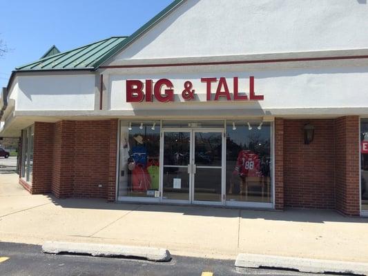 first look sold worldwide arriving Berman's Big & Tall Men's Clothing Store 2300 E Rand Rd Arlington ...