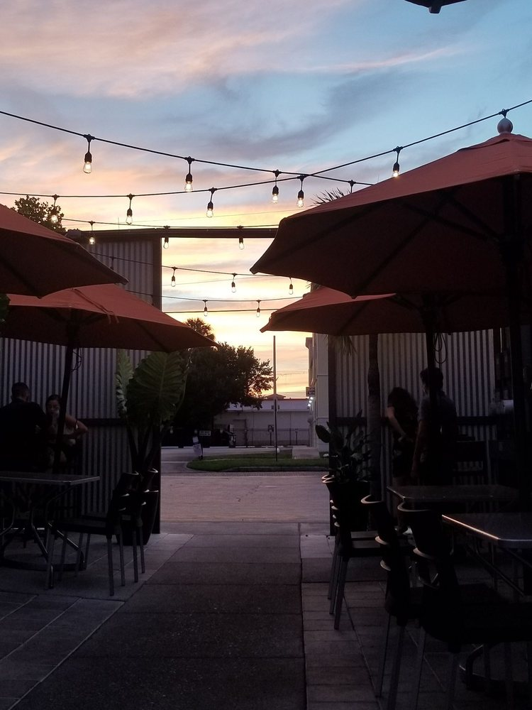 Photo of edison: food+drink lab - Tampa, FL, United States. Outdoor Seating Area