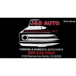 J And D Auto >> J D Auto Dismantler Junkyards 5123 Kiernan Ave Salida