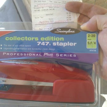 The Infamous Red Swingline Stapler On Sale For 19 Favored By