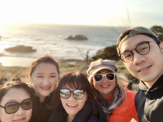 Photo of Lands End - San Francisco, CA, US. My Hong Kong office colleagues and I