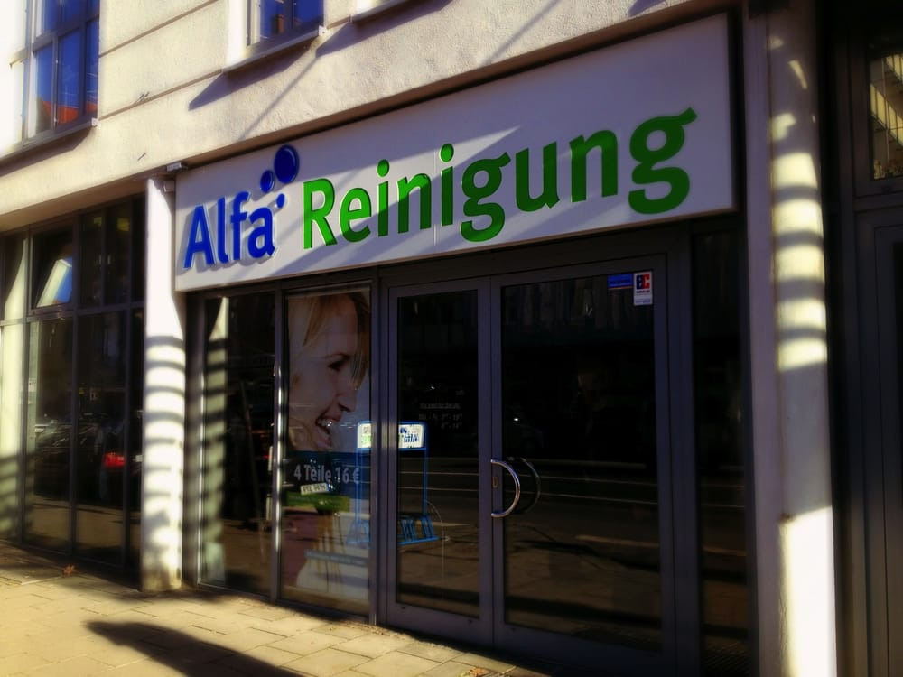Alfa Reinigung Wäscherei & Textilreinigung Tegernseer