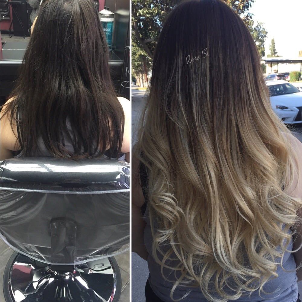 Ombre extensions norge