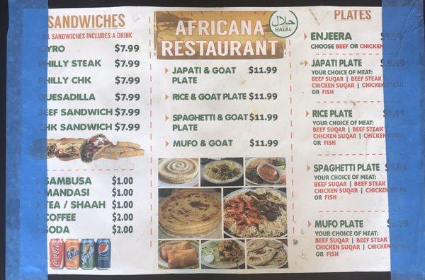 Africana Halal Restaurant 2907 Douglas Ave Des Moines Ia Mapquest
