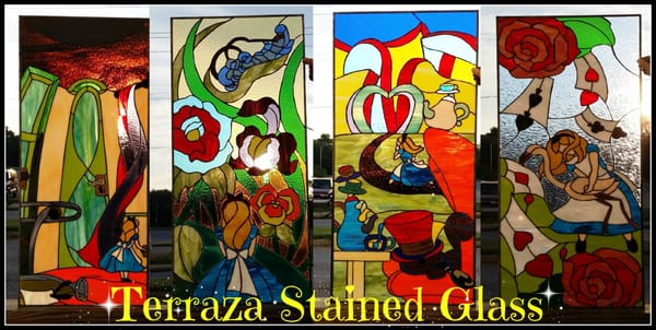 Terraza Stained Glass 3403 S Hanover St Brooklyn Md Glass