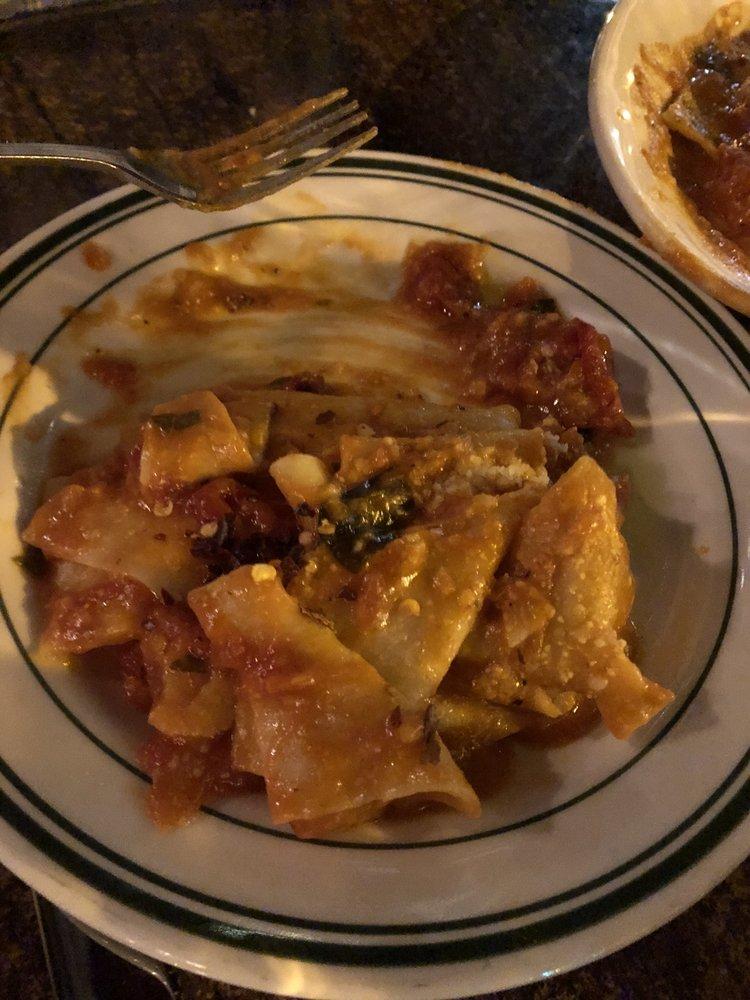 Photo of Quartino Ristorante - Chicago, IL, United States. Pappardelle w/ spicy tomato sauce