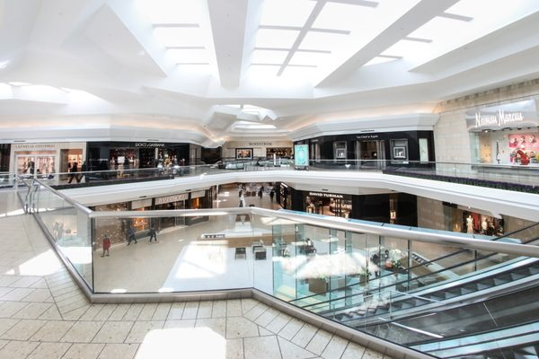 Photo of The Mall at Short Hills - Short Hills, NJ, US. Neiman Marcus and Nordstrom wing in The Mall at Short Hills