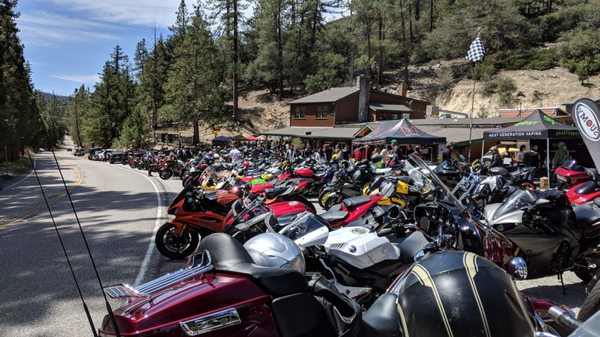 Photo of Angeles Crest Highway - La Canada, CA, US. Newcomes Ranch Bike Meetup