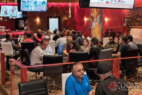 Lion poker palace