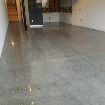Light Grey Stained And Polished