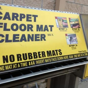 Free floor mat cleaning machine - Yelp