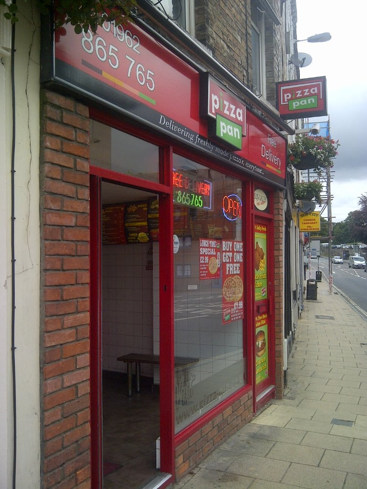 Pizza Pan Takeaway Fast Food 3 Andover Road