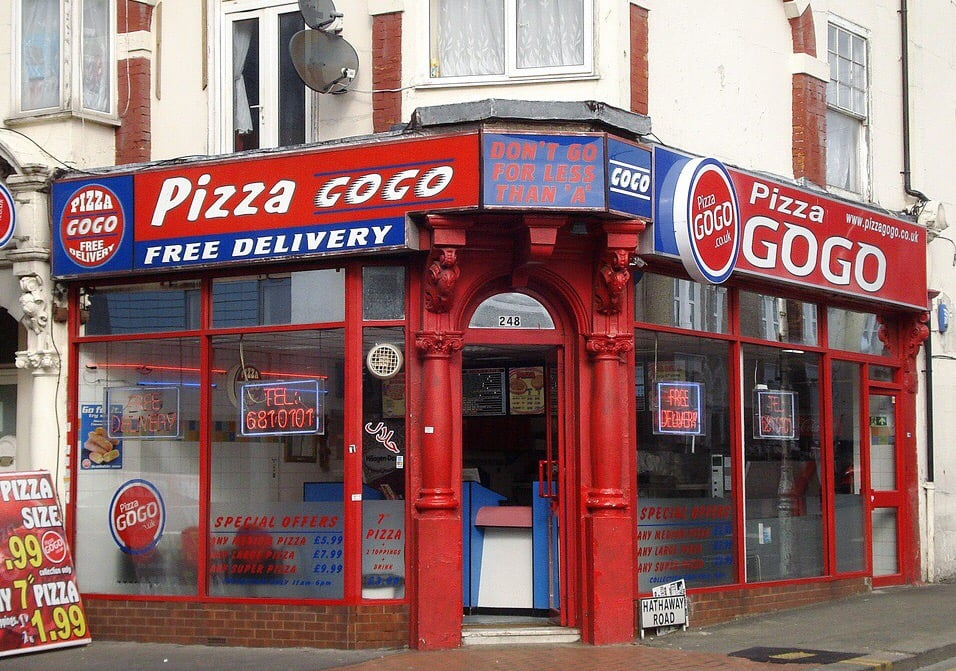 Pizza Gogo Takeaway Fast Food 2 Western Avenue East