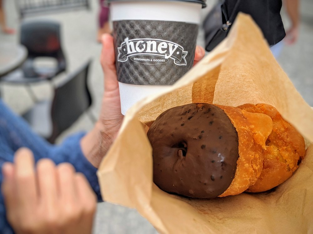 honey's donuts deep cove bc