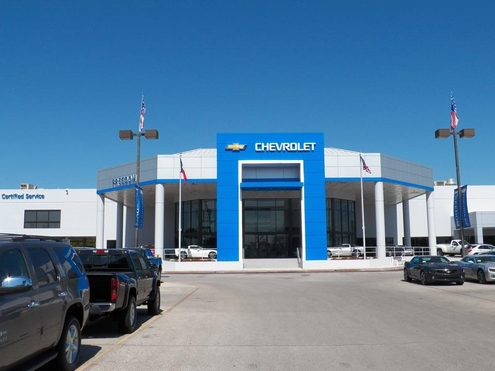 Freedom Chevrolet San Antonio Chevy Dealer Service Center