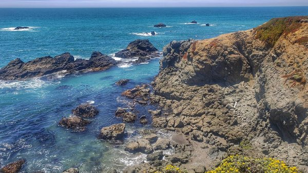 Photo of Portuguese Beach - Bodega Bay, CA, United States. View from the parking lot......pretty gorgeous!