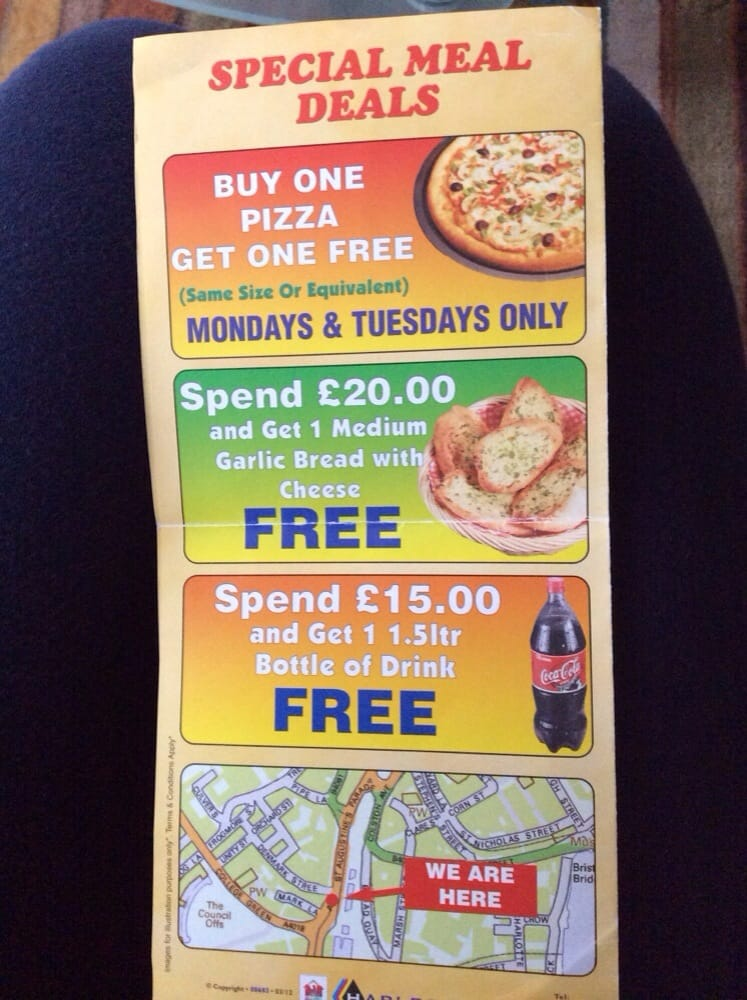 Pizza Palace Pizza 6 St Augustines Parade Bristol